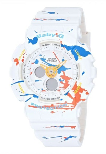 Casio white CASIO BABY-G WATCH BA-120SPL-7ADR E781EACF0D5242GS_1