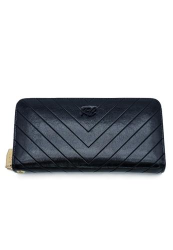 RUCINI black RUCINI Ladies Long Zip Wallet 382CEAC5633D7CGS_1