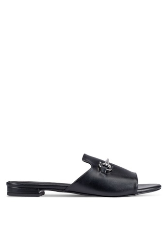 Christy Ng black Melissa Black Sliders CH330SH0RXOMMY_1
