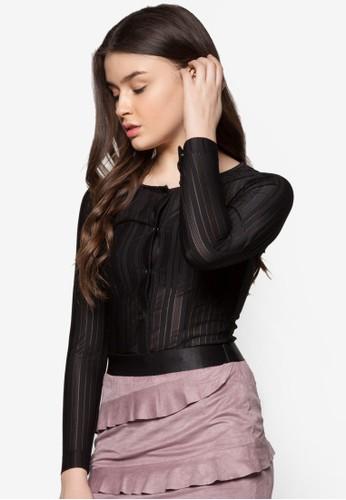 Licorice 貼身長袖上衣, 服飾esprit retail, 上衣