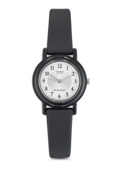 Casio 簡約跳字行針女性手錶