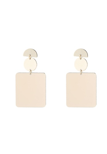 Mango Metal Pendant Earrings D14C6AC2B9EE57GS_1