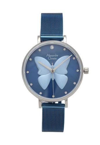 Alexandre Christie blue Alexandre Christie Jam Tangan Wanita - Blue Silver - Tali Pasir - 2850 LHBTUBU DD0A1ACA6E41E5GS_1