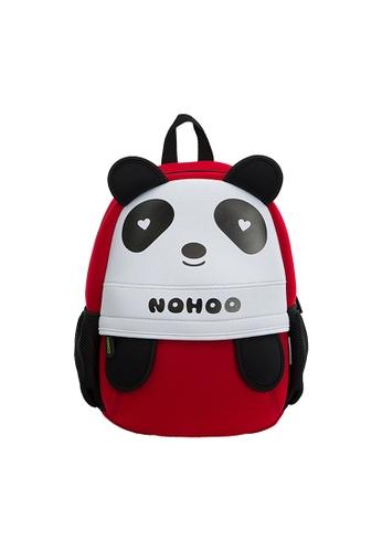 Nohoo red Nohoo Kids Backpack Loving Panda (Red) 81702KC766468AGS_1