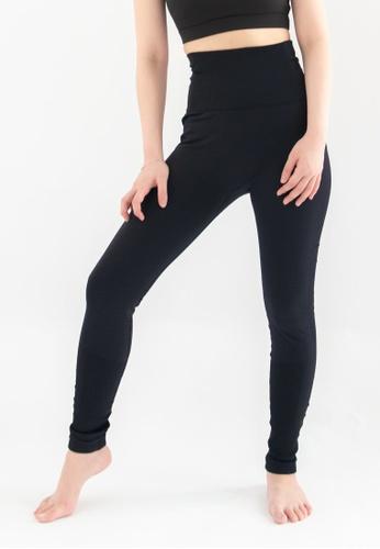Love Knot black Trevor Solid Sports Legging (Black) 8CC0DAA0023709GS_1