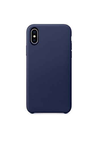 MobileHub blue iPhone XR Premium Slim Leather Case 5738FAC85B0632GS_1