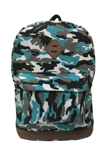 TCWK blue TCWK Women Canvas Backpack 50D32AC827061EGS_1