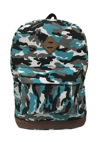 TCWK blue TCWK Women Canvas Backpack 50D32AC827061EGS_1