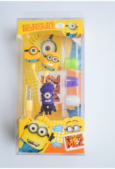 Purple Minion Earphones
