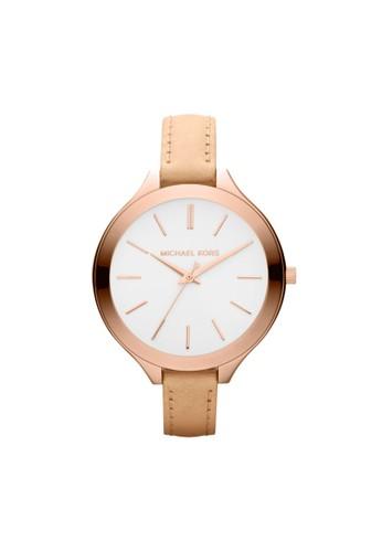 Slim Runesprit台北門市way極簡計時腕錶 MK2284, 錶類, 時尚型