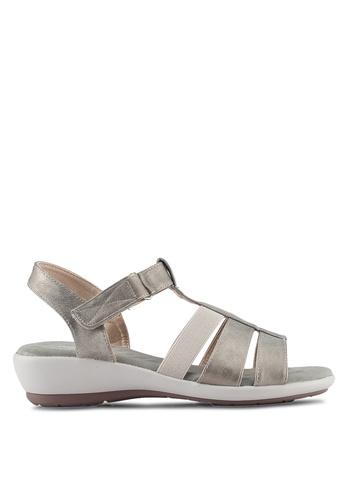 Bata silver Comfit Jacala Sandals 7501ASH890D38FGS_1