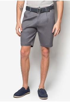 D 環腰帶短褲