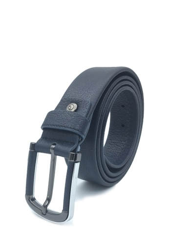 Goldlion blue Casual Pin Belt with Rounded Buckle-A 4F3FCACDD928CDGS_1