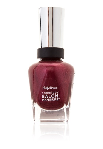 Sally Hansen n/a New Complete Salon Manicure with Keratin in Wine Not SA454BE27HVOPH_1