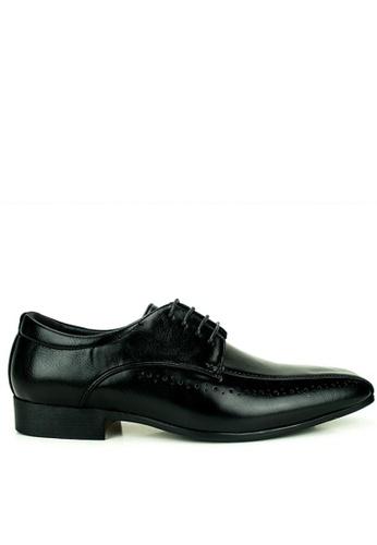 Mario D' boro Runway black Dave Formal Shoes 8B5B0SH14E52EBGS_1