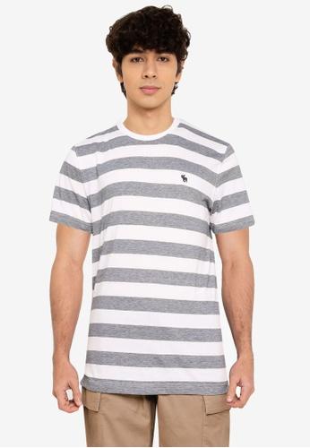 Abercrombie & Fitch multi Straight Hem Pattern T-Shirt FFB1FAAF682969GS_1