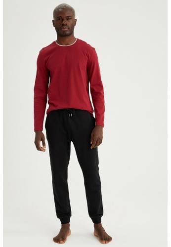 DeFacto red Man 2-pieces Homewear Set E8D2FAAA5DE3F6GS_1