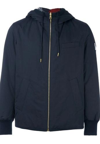 Moncler navy Moncler Gamme Bleu reversible hooded Jacket in Navy A2CA2AA9765859GS_1