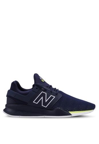 New Balance navy 247 Lifestyle Tritium (DTC) Shoes 0D457SH3E2645BGS_1