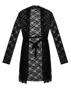 harga Sweet Lingerie - Chloe French Full Lace Elegant Kimono Zalora.co.id