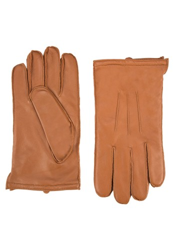 基本款皮革手套, 飾品配件, 飾品配zalora 心得 ptt件