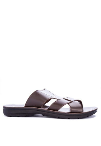 H2Ocean brown Abramo Sandals 6A354SHC3A8C75GS_1