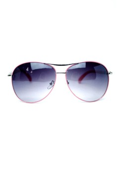 Jessica Oversized Sunglasses by Ohrelle Sunnies