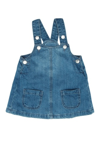 LC Waikiki blue Baby Girl's Denim Dress E86C9KA63EF416GS_1