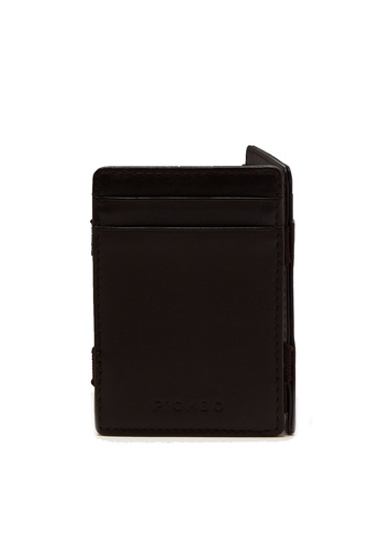 OVS brown Piombo Genuine Leather Card Holder 15233AC9F43F09GS_1