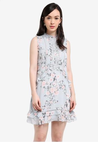Forever New multi Tobie Lace Detail Shift Dress C7D26AA5E7E65CGS_1