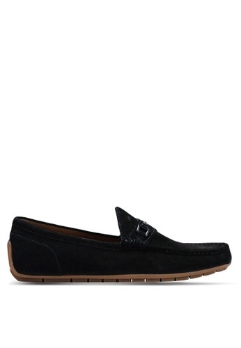 ALDO black Meledor Keeper Loafers ADE26SHC2C47B4GS_1