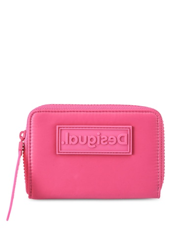 Desigual pink Medium Logo Wallet 0DCA0AC7D25E9DGS_1