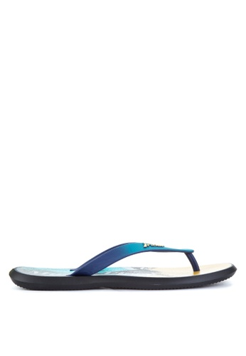 Rider black and yellow and blue R1 Energy AD Flip Flops RI584SH77OZMPH_1