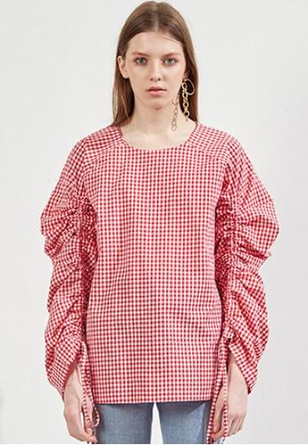 Workwear multi Red Plaid Top WO056AA41FJISG_1