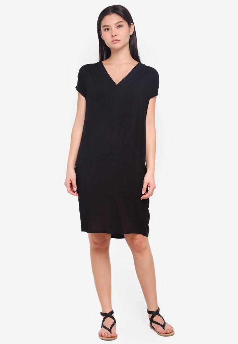 ICHI Black Black ICHI ICHI Esther Esther Esther Solid Esther Black Solid Dress Solid Dress Dress AqE1wOAd