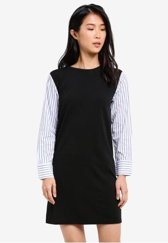 ZALORA multi Shirt Sleeve Shift Dress 404FFAA5378950GS_1