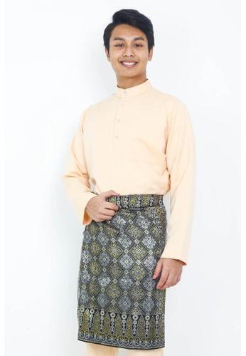 STARVILION orange Dominique Baju Melayu FBB19AAC37898AGS_1