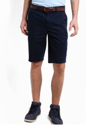 Boss Orange navy Schino Slim Shorts BO434AA90MGVMY_1