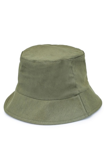 Pieces green Nabby Bucket Hat A4FD7AC6018377GS_1