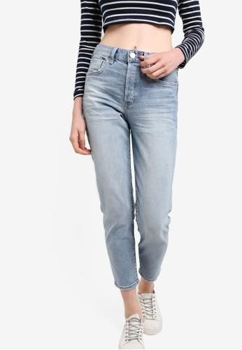 Buy River Island Tapered Boyfriend Jeans   ZALORA Singapore