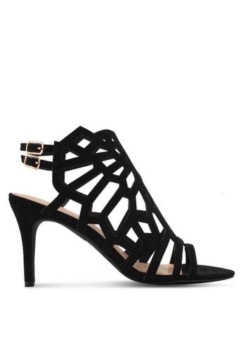 Something Borrowed black Cut Out Open Toe Heel 01353ZZC7F5161GS_1