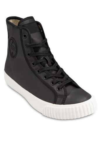 蠟染esprit hk高筒帆布鞋, 女鞋, 鞋