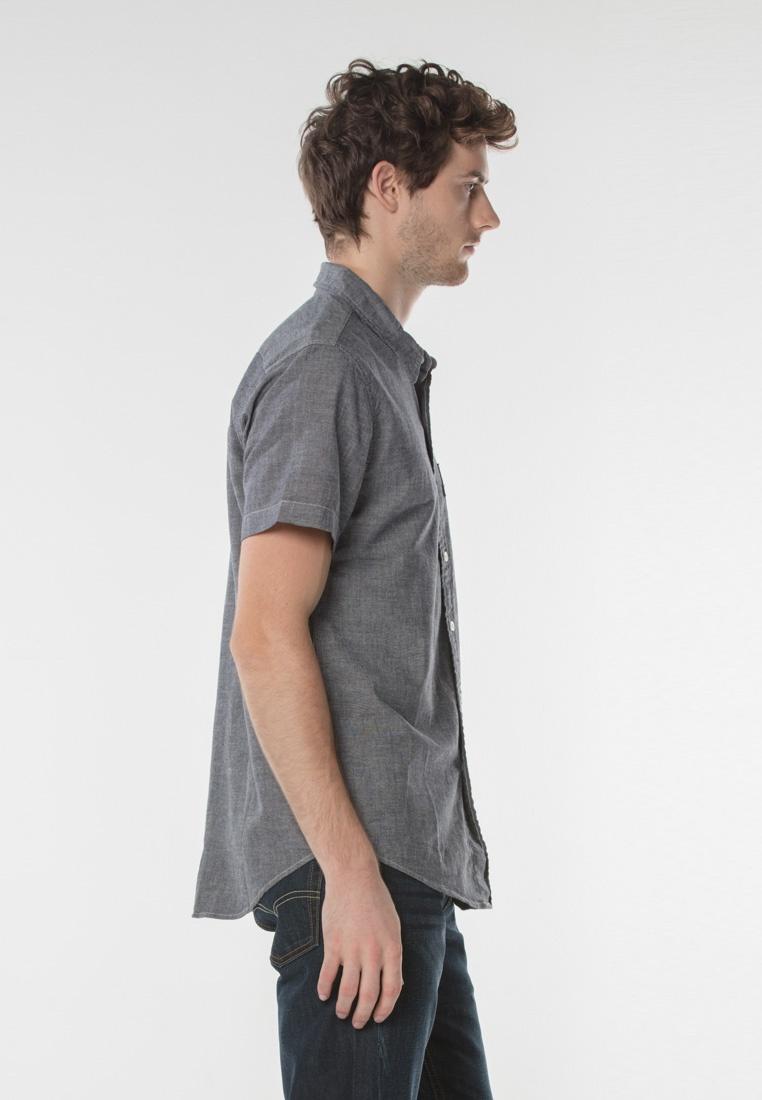 Short One Pocket Levi's Grey Shirt Levi's Sleeve Classic fxqCCwvRn