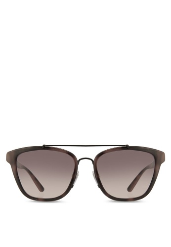 Burberry brown The Regent BE4240 Sunglasses BU958GL71EROMY_1