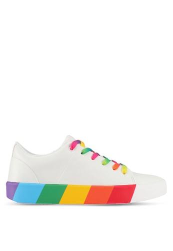 ALDO white Etilivia Sneakers B8C07SHE95B706GS_1