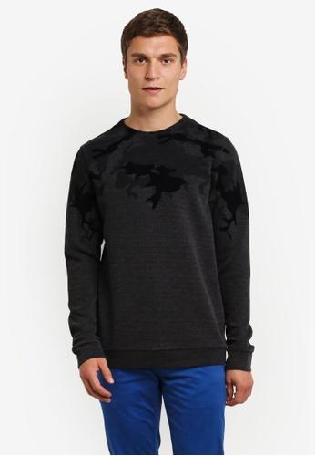 Boss Orange black Weggle Sweatshirt BO434AA0RPQVMY_1