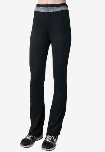 Trendyol black Flare Leg Sports Sweatpants D3BC3AACEF9C3FGS_1