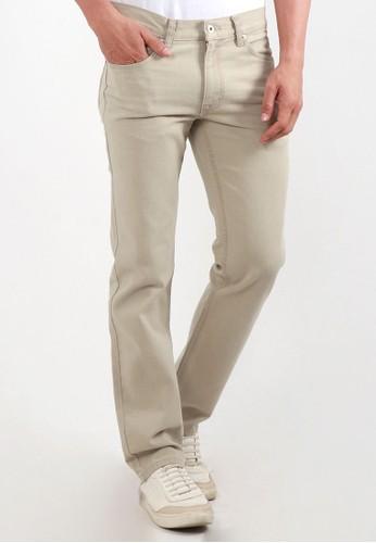 Edwin Jeans brown Edwin Celana Jeans N.London Khaky Reguler Fit Pria Panjang Khaky EED27AA60DDDA6GS_1