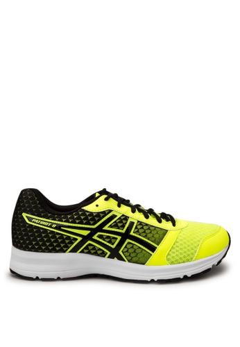 Asics yellow Patriot 8 Running Shoes AS445SH89ZUKPH_1