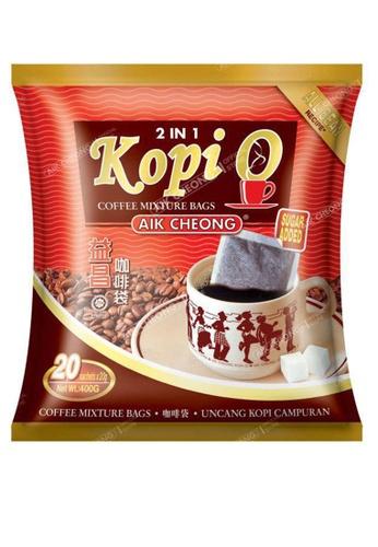 AIK CHEONG AIK CHEONG Kopi-O Bag 2in1 400g (20g x 20 sachets) - Sugar Added D4964ES02F134BGS_1